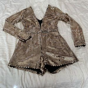NEW YEARS EVE SEQUIN ROMPER 🤩🎉